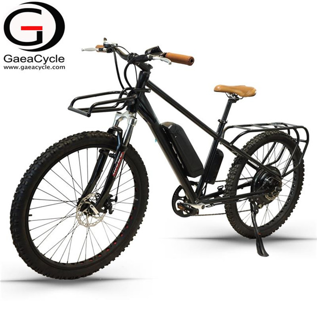 26inch Cargo Electric City Bike With 2 Seats