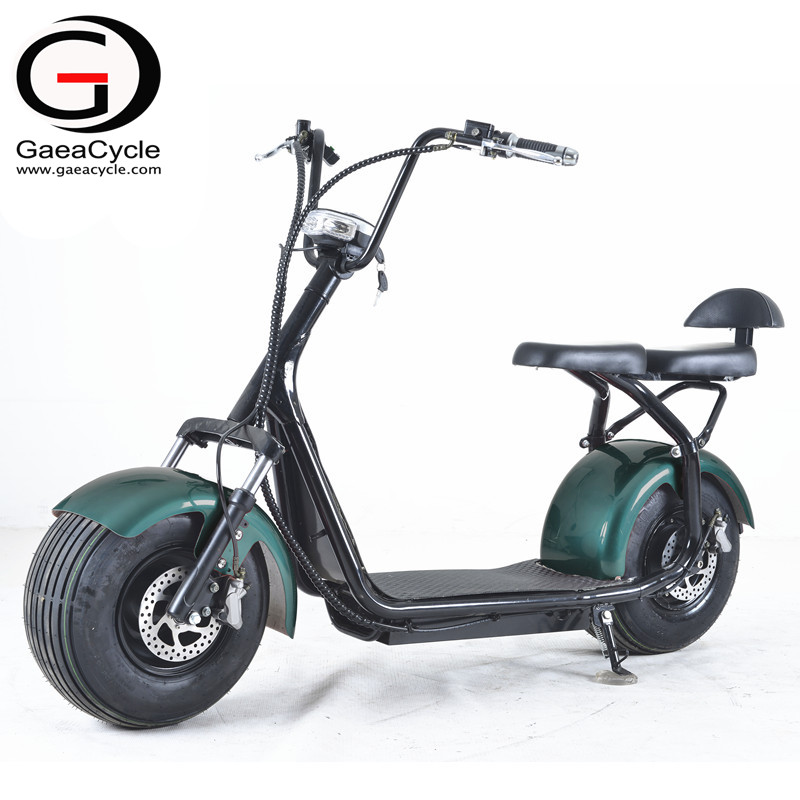 Full Suspension Citycoco Fat Tire Electric Scooter