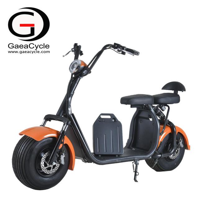 Fat Tire 1000W/1500W Citycoco Electric Scooter - Changzhou