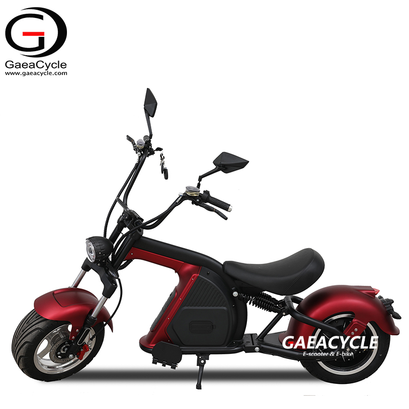 High Speed Electric Scooter EEC COC Citycocco Fat Tire 60v 30Ah Removable Battery E-chopper Motorcycle Scooters for Adults