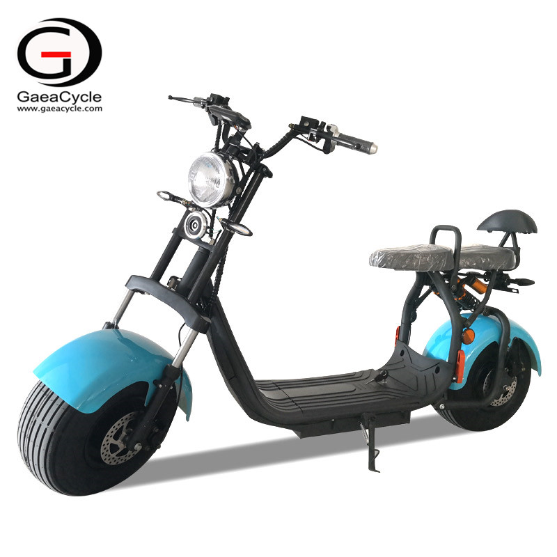 New 1500w Fat Tire Electric Scooter EEC/COC Citycoco For Adult