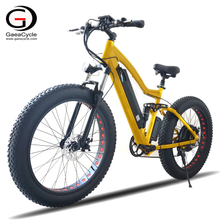 Factory Directly Sell 48v 750w Mountain Fat Tyre Electric Bike
