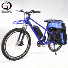 26inch Electric Cargo Bike Mountain Ebike With Bag