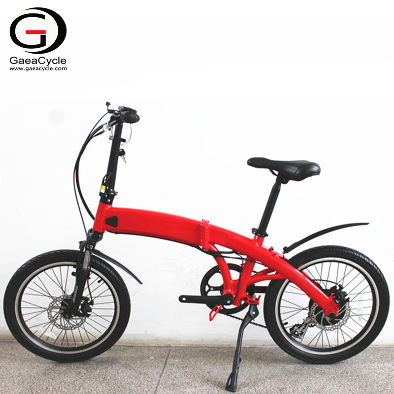 New Design Hidden Battery Folding Electric Bicycle