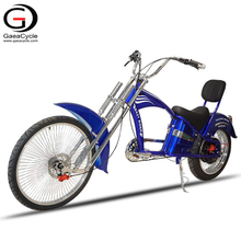 Vintage Chopper Electric Scooter Bike 48v 500w Rear Motor 12ah Battery ebike Carbon Steel Frame Electric Bicycle