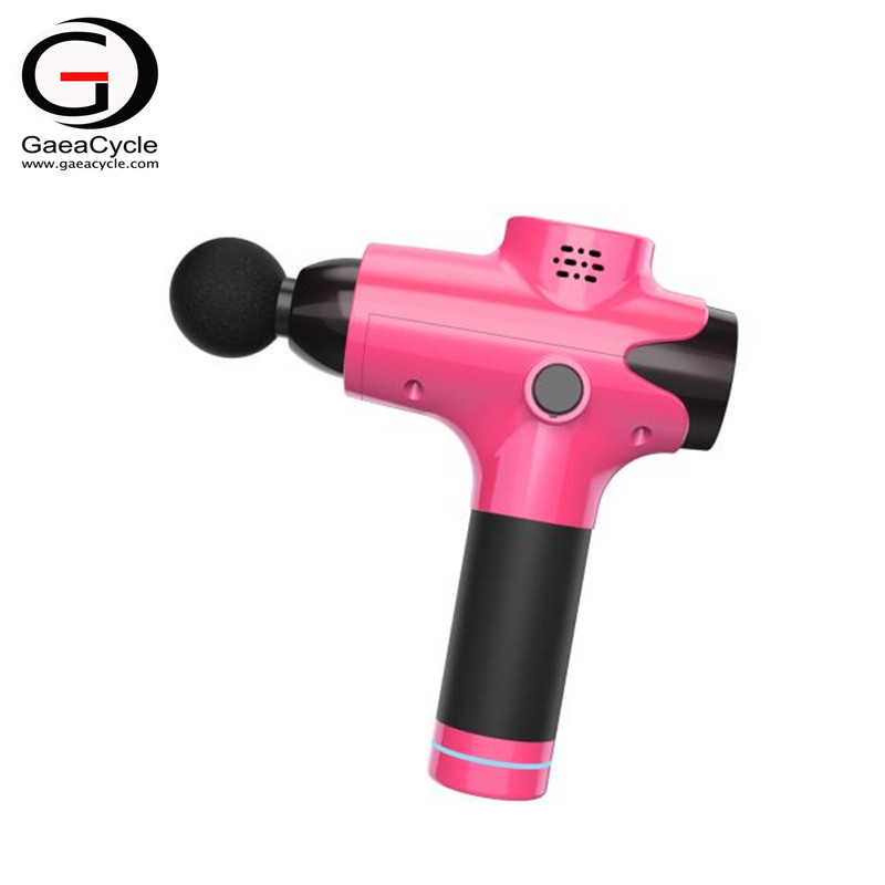 The best wireless 24V li-ion massage gun noise free for trainer coach deep muscle tissue