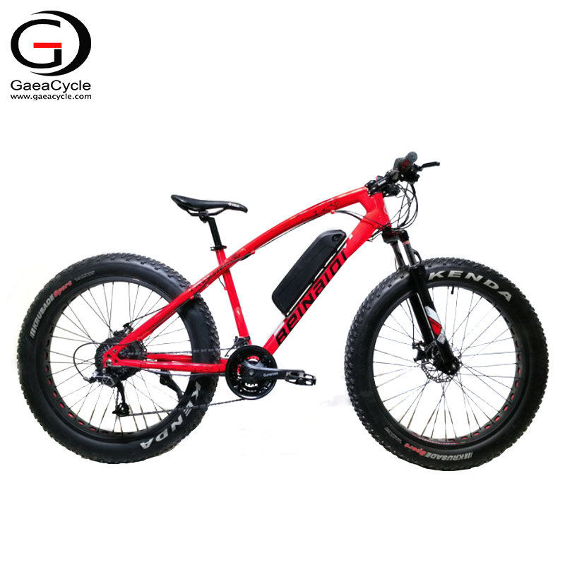 New 26inch Steel Frame Fat Tire Electric Bicycle for Adult