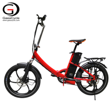 20inch City Six-spoke Electric Folding Bike