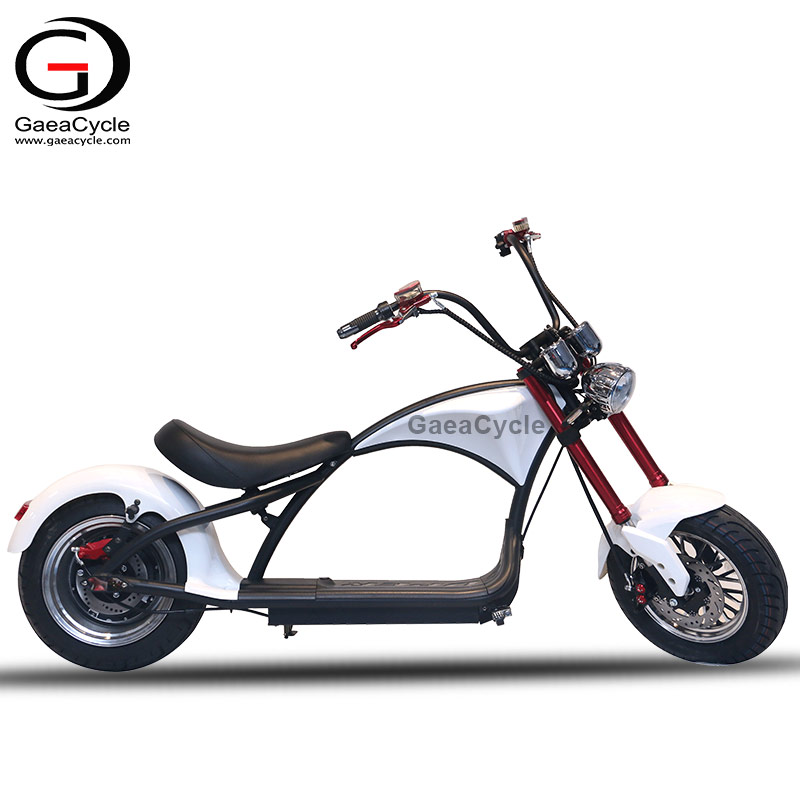 High Speed Citycoco 2000w Electric Scooter COC for Adult