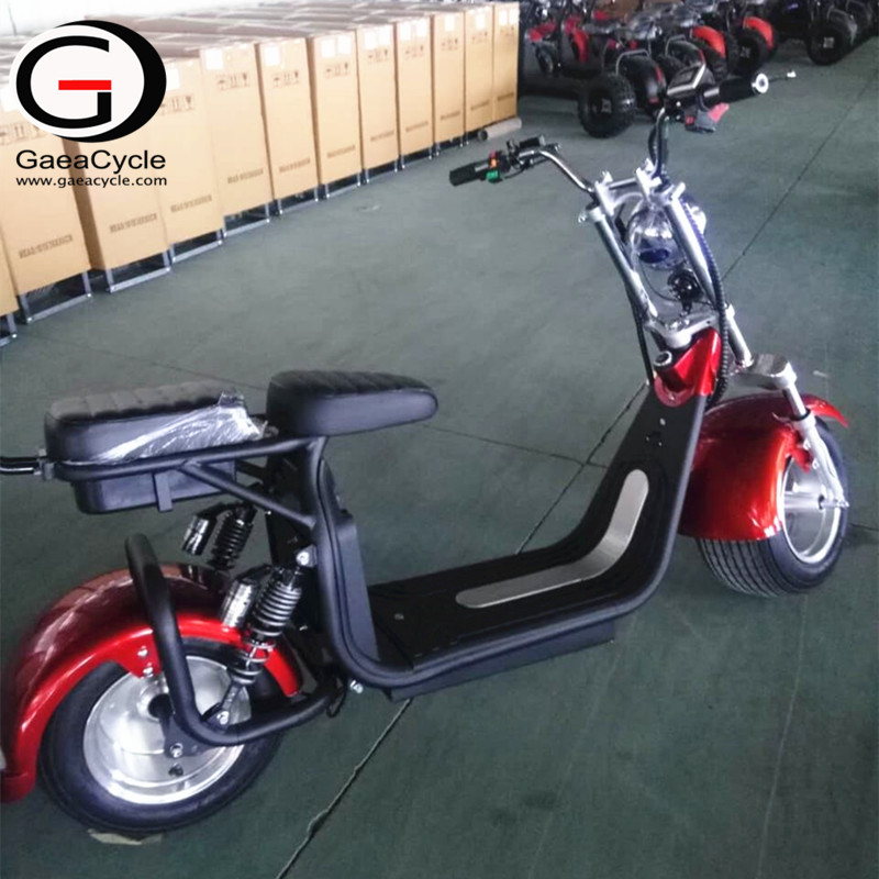 2000w Hot Sale Double Battery Electric Scooter With Aluminum Wheel
