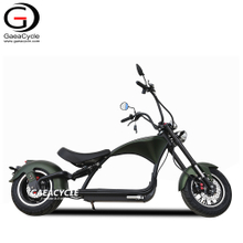 Street Legal M1P 2000w with Dual Rear Suspension Chopper Electric Scooter Citycoco
