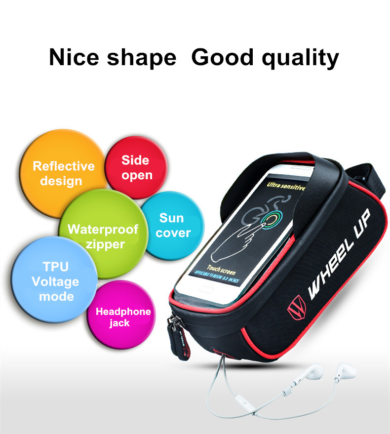 Bicycle Beam Waterproof Mobile Phone Bag