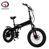 20inch New Arrival Hidden Battery Folding Fat Tyre City Electric Bicycle
